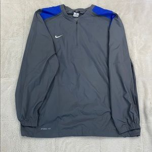 Nike Storm-Fit Gray Windbreaker